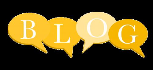 Letras flotantes para cabecera del blog